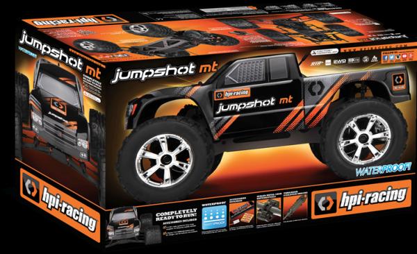 PROMOCJA! JUMPSHOT MT 1/10 2WD ELECTRIC MONSTER TRUCK