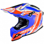 KASK JUST1 J12 FLAME RED-BLUE