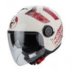SCORPION KASK EXO-CITY HERITAGE BEIGE-RED