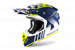 AIROH KASK OFF-ROAD AVIATOR ACE NEMESI BLUE GLOSS