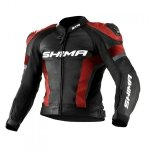SHIMA STR JACKET RED BLACK kurtka do kombinezonu STR