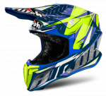 AIROH TWIST IRON BLUE GLOSS Kask Off-road