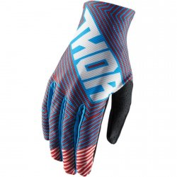 THOR RĘKAWICE VOID GEOTEC S8 OFFROAD BLUE/RED =$