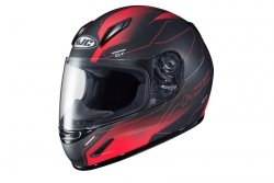 HJC KASK INTEGRALNY JUNIOR CL-Y TAZE BLACK/RED