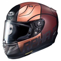 HJC KASK R-PHA-11 QUINTAIN BROWN/BLACK