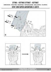 KAPPA KD7706ST SZYBA KTM 1290 SUPER ADVENTURE 44X41 CM