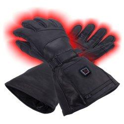 GLOVII GS5 Ogrzewane skórzane rękawiczki