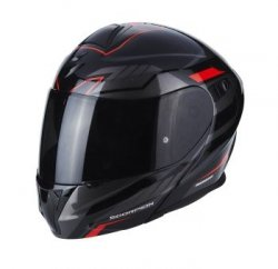 SCORPION KASK INTEGRALNY EXO-920 SHUTTLE BK-SIL-RE