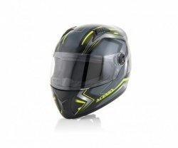 Acerbis Kask Full Face FS-807 czarno - żółty