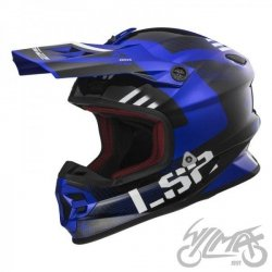 KASK LS2 MX456 LIGHT RALLIE BLUE BLACK