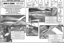 Kappa Stelaż centralny Bmw K1200 Rs (00>04)