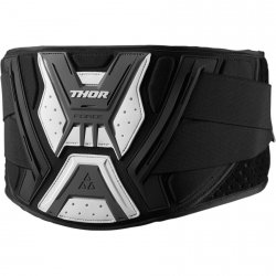 THOR PAS FORCE SUPPORT BELT BLACK/GRAY/WHITE =$