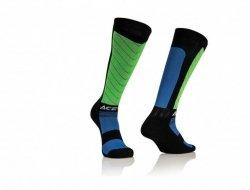 Acerbis Skarpety MX Compression czarno - zielony