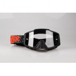 LAZER Gogle Track Red - black - red / Clear