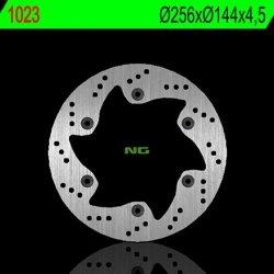 NG1023 TARCZA HAMULCOWA HONDA SH 300 06-17, NSE 50 96-01 (256X144Z4,50)(6X105MM)