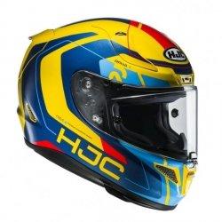 KASK HJC R-PHA-11 CHAKRI BLUE/YELLOW