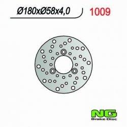NG1009 TARCZA HAMULCOWA KYMCO QUAD KXR/MXU 250, MAXXER/MXU 300 (180X58X4) LEWA
