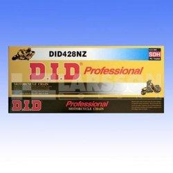 Łańcuch napędowy DID 428 NZ/130 bezoringowy wyczynowy (cross) 2151005
