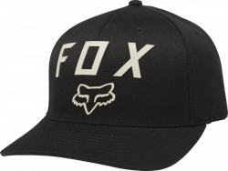 FOX CZAPKA  NUMBER 2 FLEXFIT BLACK/DARK KHAKI