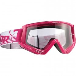 THOR GOGLE CONQUER OFFROAD PINK/WHITE =$