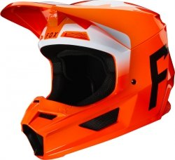 FOX KASK OFF-ROAD V-1 WERD FLO ORANGE