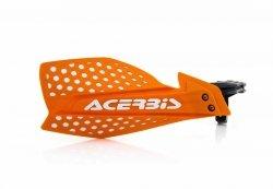Acerbis Handbary X-Ultimate pomarańczowo - biały