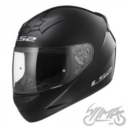 KASK LS2 FF352 SINGLE GLOSS BLACK