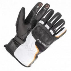 Rękawice motocyklowe BUSE  Touring czarno-białe