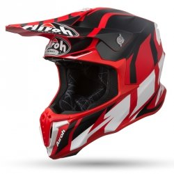 KASK OFF-ROAD AIROH TWIST GREAT RED MATT