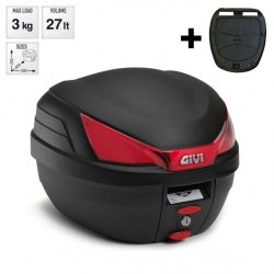 Kufer Givi B27NMAL monolock 27L czarny mat