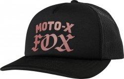 FOX CZAPKA Z DASZKIEM  LADY MOTO X BLACK