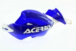 Acerbis Handbary RALLY II z mocowaniami 22mm blue