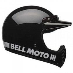 BELL MOTO-3 CLASSIC BLACK KASK MOTOCROSS