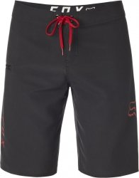 FOX BOARDSHORT OVERHEAD BLACK/RED