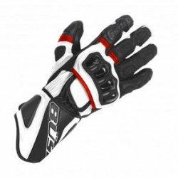 Rękawice motocyklowe BUSE Aragon czarno-białe