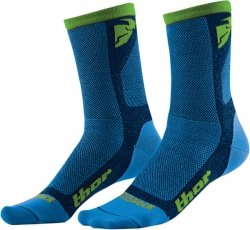 Skarpety THOR DUAL SPORT Blue / Green