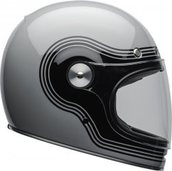 BELL KASK INTEGRALNY  BULLITT DLX FLOW GRAY/BLACK