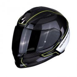 SCORPION KASK INTEG EXO-510 AIR FRAME BK-NE YEL-WH
