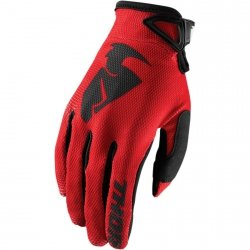 THOR RĘKAWICE SECTOR S8 OFFROAD GLOVES RED =$