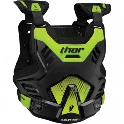 THOR BUZER YOUTH SENTINEL GP BLACK/FLO GREEN =$