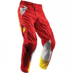 THOR SPODNIE YOUTH PULSE AIR RADIATE OFFROAD RED=$