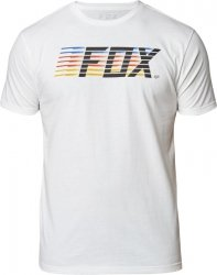 FOX T-SHIRT LIGHTSPEED MOTH PREM OPTICAL WHITE