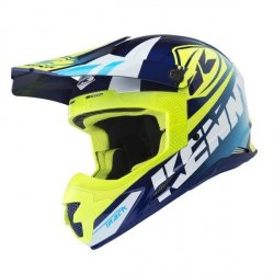 KASK CROSS KENNY TRACK CYAN NEON YELLOW 2018
