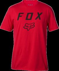 FOX T-SHIRT LEGACY MOTH DARK RED