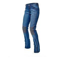ADRENALINE Spodnie jeans ROCK LADY PPE niebieski