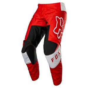 FOX SPODNIE OFF-ROAD 180 LUX FLUORESCENT RED
