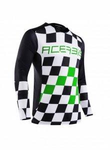 Acerbis bluza off-roade Start & Finish MX  zielony