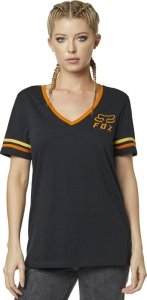 FOX T-SHIRT LADY HERITAGE FORGER BLACK
