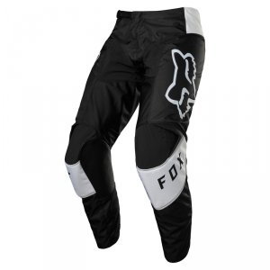 FOX SPODNIE OFF-ROAD 180 LUX BLACK/WHITE