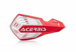 Acerbis Handbary X-FUTURE  czerwono - biały